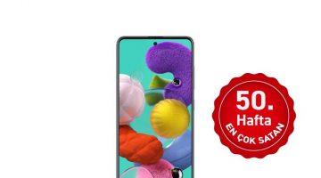 Haftanın en çok satan akıllı telefonu; Hafta 50