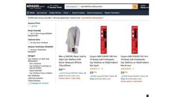 Amazon Türkiye'de  Cep Telefonu Aksesuarlarında %50'ye varan indirim