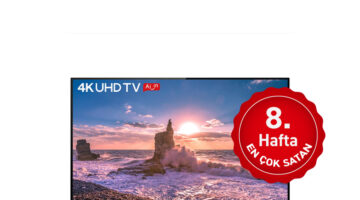 Haftanın en çok satan TV'si; Hafta 8