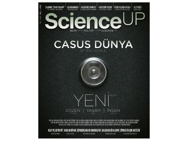 ScienceUp, Şubat sayısında yine iddialı konular var.