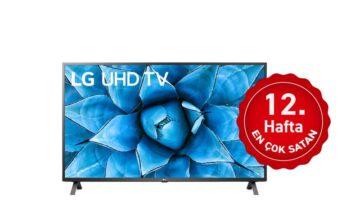 Haftanın en çok satan TV'si; Hafta 12