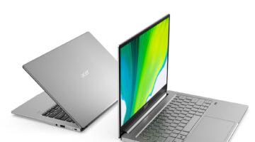 Acer Swift yüksek kapasiteli pili ile hızlı şarj destekli