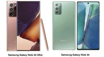 Samsung Galaxy Note 20 ve Note 20 Ultra