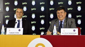Getir, Galatasaray'ın yeni forma sponsoru 1+2 yıl olarak anlaşma imzalandı.