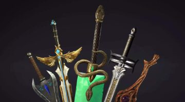 Stylized Fantasy Sword Pack #1